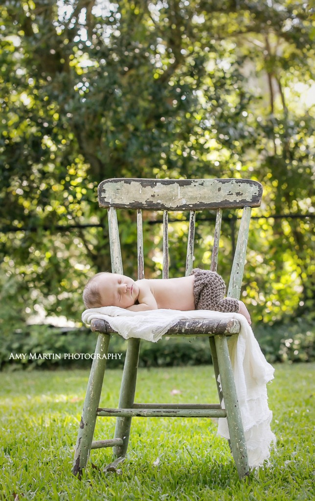 Baton Rouge newborn photographer natural
