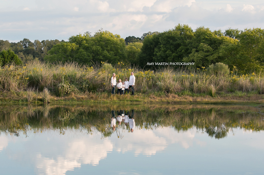 outdoor family portrait photographer louisiana