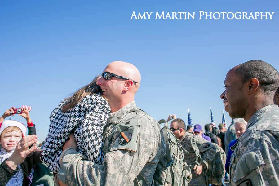 Baton Rouge army homecoming photographer
