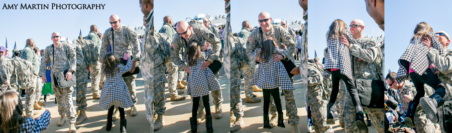 military homecoming photographer