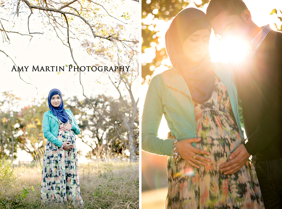 Maternity Photography with Hijab