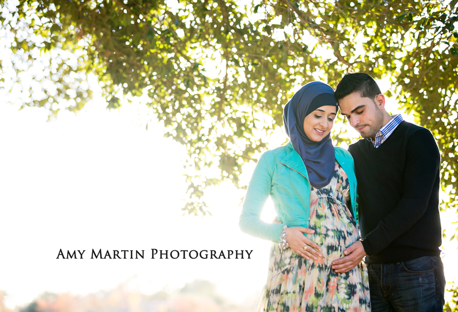 Maternity Photography with head scarves