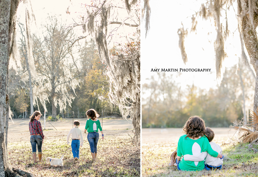 outdoor family portraits baton rouge louisiana