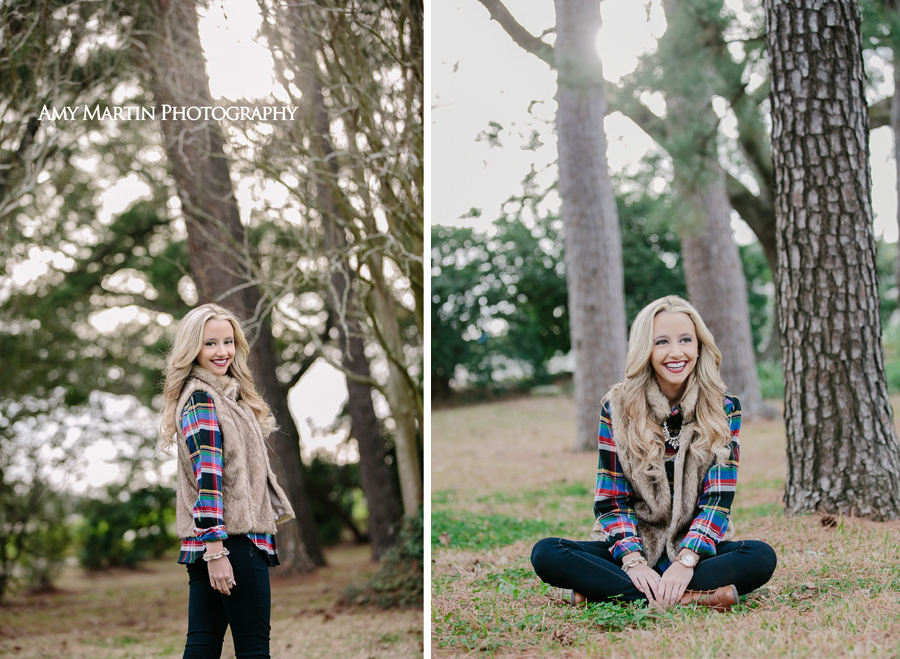 Natural Senior Portraits Baton Rouge Louisiana